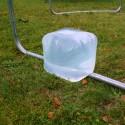 Trampoline 3m70 - 4 accessoires compris