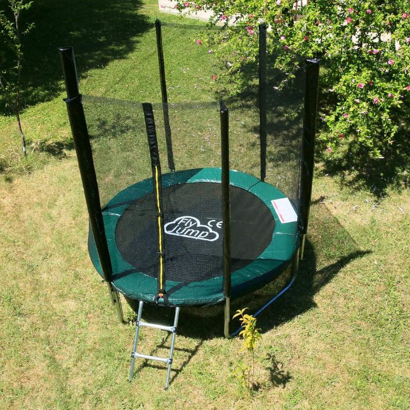 trampoline 305cm avec filet et accessoires offerts livraison gratuite. Black Bedroom Furniture Sets. Home Design Ideas