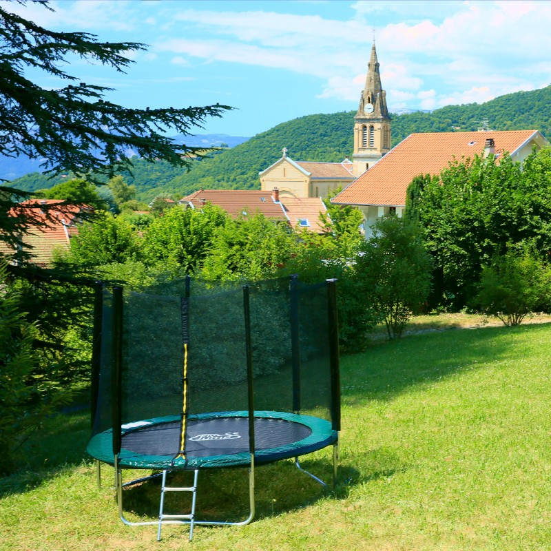 trampoline 200 cm taille xs flyjump. Black Bedroom Furniture Sets. Home Design Ideas