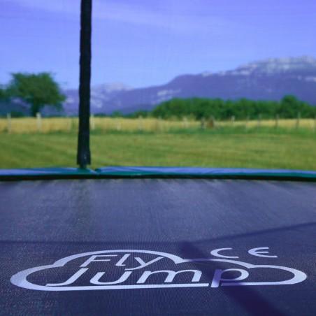 FlyJump spécialiste du trampoline rond 4m
