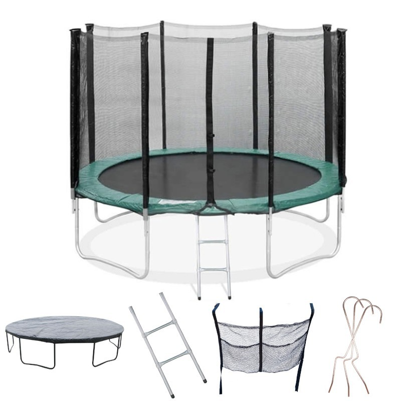 trampoline 430 taille xl flyjump. Black Bedroom Furniture Sets. Home Design Ideas