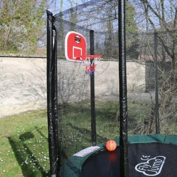 Panier de Basket et ballon pour Trampoline