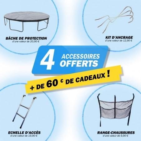 4 accessoires offerts